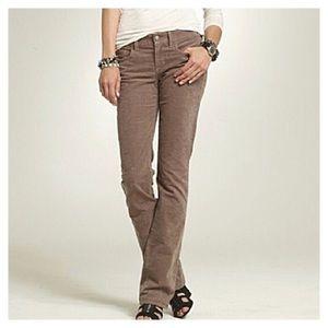 JCrew matchsticks corduroy skinny jeans Sz 30R